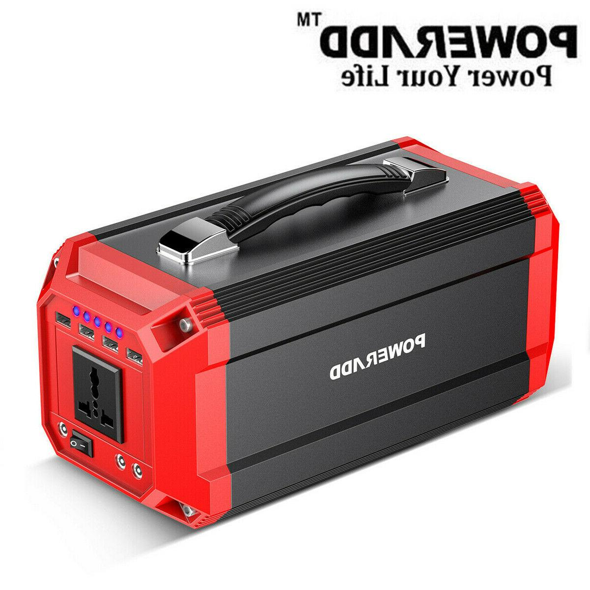 Poweradd 73000mAh Solar Power Inverter Energy Storage