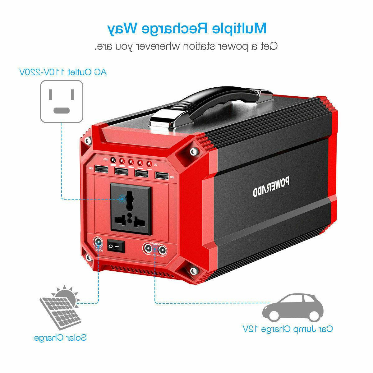 Poweradd Portable Power Inverter Generator Energy