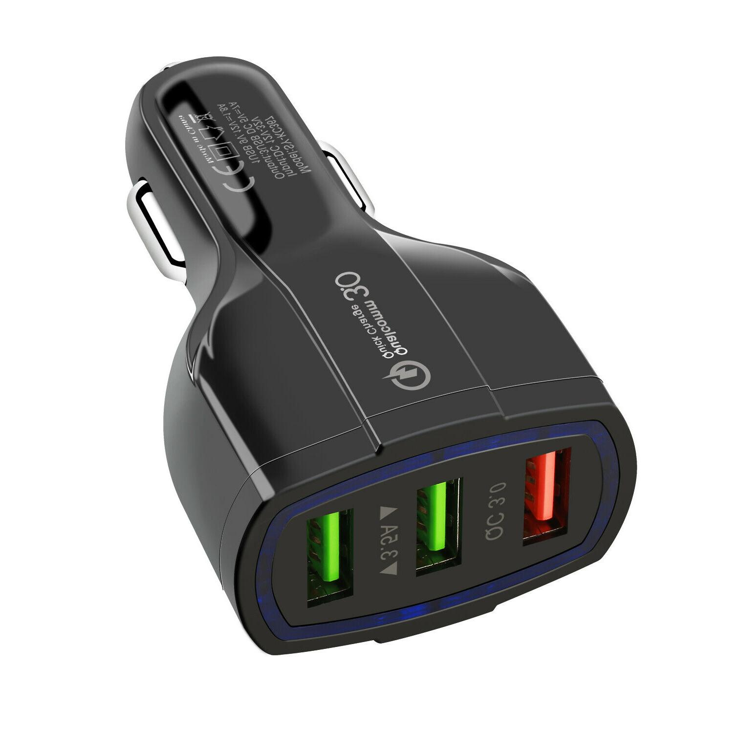 QC CAR Charger USB Android