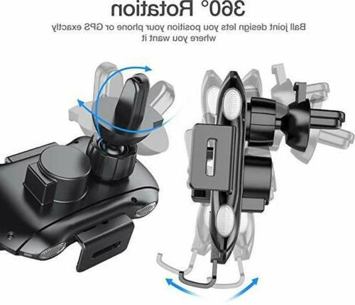 Qi Wireless Charger Fast Mount Clamping Holder