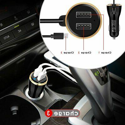 For Samsung Galaxy S8 S9 Plus S10 Type C Quick Car Charger