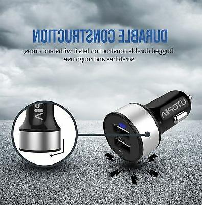 USB Charger Dual Port Fast Utopia Home