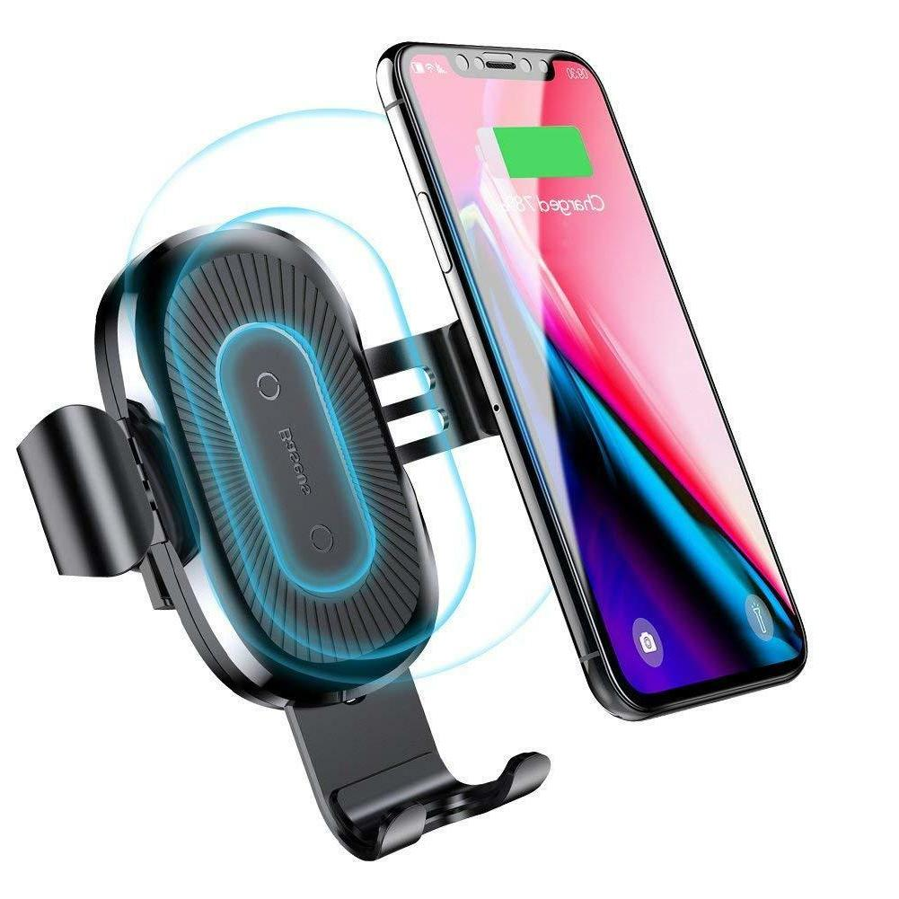 wireless charger cell phones accessories car mount