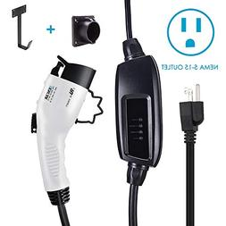 Zencar Level 1 EV Charger , Portable EVSE Home Electric Vehi