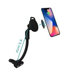 Lerea Magnetic Car Phone mount,Car Charger Holder Cradle wit
