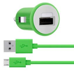 Belkin MiXiT Car Charger + Micro USB Cable for Amazon Fire P