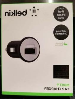 Belkin Mixit Car Charger With USB Port 2.1 Amp  New!!!