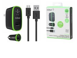 Belkin Mixit Home Car Charger Kit for iPhone XS 8 XR iPad 12