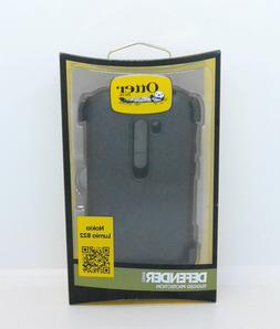 New OEM OtterBox Defender Series Black Case For Nokia Lumia