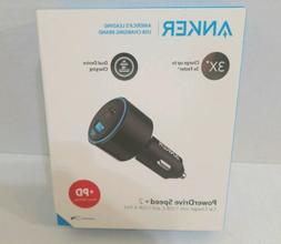 ANKER PowerDrive Speed+ 2 2 Port USB Car Charger USB-C & USB