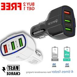 QC 3.0 Fast Quick CAR Charger USB  For Android or iPhone