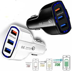 Kuulee QC3.0 <font><b>Car</b></font> <font><b>Charger</b></f