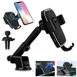 Qi Wireless Car Charger Mount Holder Stand Fast Charging For