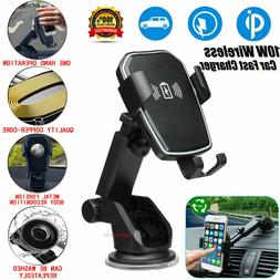 Qi Wireless Fast Charging Car Charger Mount Holder Stand 2 i
