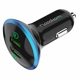 Maxboost Quick Charge 3.0 36W Dual USB Car Charger for Type