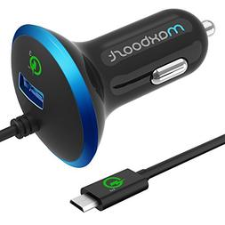 Quick Charge 3.0 Car Charger, Maxboost 36W USB Smart Port w/