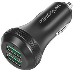 Quick Charge 3.0 Car Charger Universal Charging 2 USB Ports