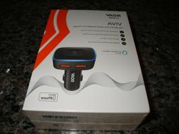 Roav Viva by Anker Alexa-Enabled 2-Port USB Car Charger in-C