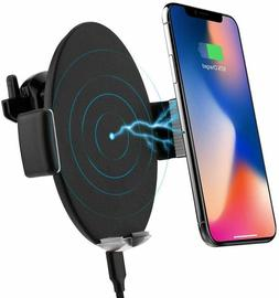 Touch Sensitive Wireless Car Charger Mount,10W Qi Fast Charg