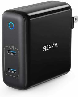 USB C Car Charger Anker 48W 2-Port PIQ 3.0 Fast Charger Adap