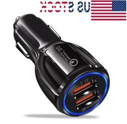 USB Fast Quick CAR Charger Adapter  For Android or 1Pone