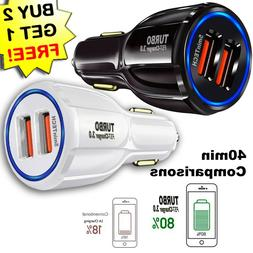USB Fast Quick CAR Charger Adapter  for Android or iPhone