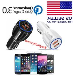 USB Fast Quick CAR Charger Adapter for Android Samsung LG iP