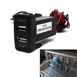USB Socket Port with Audio Socket for Toyota Vigo Series - M