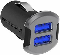 NEW SCOSCHE USBC242MSG 12 Watts per port  USB Car Charger