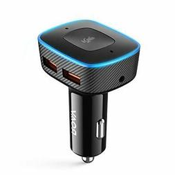 Roav Viva Pro, by Anker, Alexa-Enabled 2-Port USB Car Charge