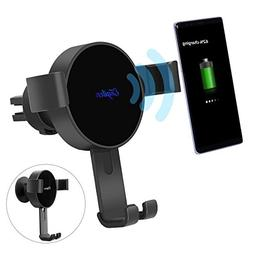 Engilen Wireless Car Charger Fast Charging Car Mount Gravity