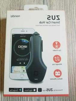 ZUS Smart Car Hub Dual USB Car Charger & Smart Car Locator N